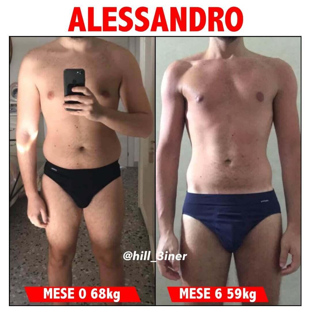 Hill3iner - Trasformazione Alessandro